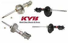 Set of Front and Rear Suspension Strut Assemblies KYB Fits Hyundai Accent 98-99