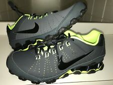44e7694d087f NEW NIKE Reax 9 TR Mens Sz 8.5 Sneaker Shoes Anthracite   Black-Volt 807184