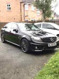 2011 Black c63 Amg w204 MBSH FULL MOT GOOD CONDITON