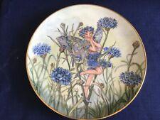 "Villeroy & Boch/Heinrich Flower Fairies Collection ""The Cornflower Fairy "" plate"