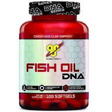 BSN Fish Oil DNA x 100 Softgels Omega 3 Healthy Skin Heart & Cardiovascular Oils