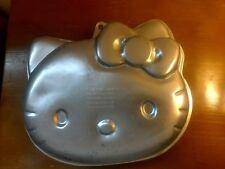 Hello Kitty Cake Pan Wilton Aluminum Baking Mold Kitten Cat Feline