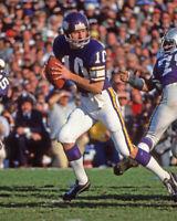 1977 Minnesota Vikings FRAN TARKENTON Glossy 8x10 Photo Print Super Bowl XI