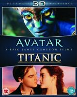 Avata -Titanic [Blu-ray 3D + Blu-ray] [1997] [Region Free] [DVD][Region 2]