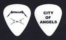 Metallica Los Angeles City Of Angels City Guitar Pick - 2008 Death Magnetic Tour