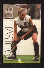 New listing Louisville Cardinals--2002 Field Hockey Pocket Schedule--Fischer's Bologna