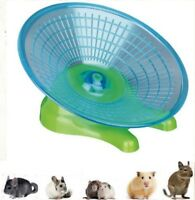 Flying Saucer Running Jogging Disc Exercise Dish Wheel Toy Safe & Silent