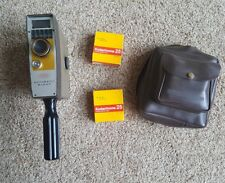 Vtg AMC Hand Held Movie Camera with Bag & 2 rolls of film Untested
