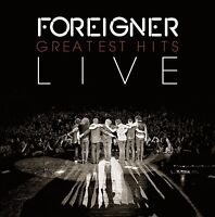 FOREIGNER - GREATEST HITS LIVE  CD NEU