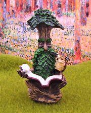 Miniature Dollhouse Fairy Garden Resting Tree Face #3 - Buy 3 Save $5