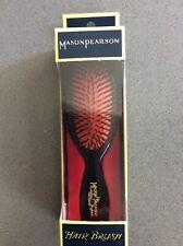 Mason Pearson B4 Pocket Size Boar Bristle Hairbrush – Dark Ruby Fine Hair Boxed