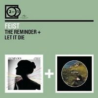FEIST - 2 FOR 1: THE REMINDER/LET IT DIE 2 CD++++++++++++++ NEU