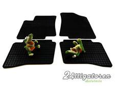 4 x Gummi-Fußmatten ☔ für KIA Rio III seitdem 2011