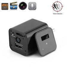 Wireless 1080P HD USB Mini SPY Motion Hidden Wall Charger Camera CCTV Camcorder