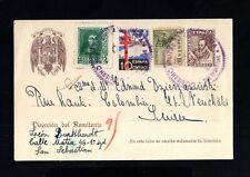 678-ESPAÑA-SPAIN.MILITARY POSTCARD SAN SEBASTIAN  to SWITZERLAND.1939.WWII.