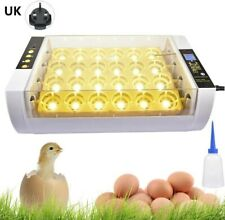 UK Digital Fully Automatic 7/24 Poultry Egg Incubator with Temperature Control