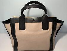 Chloe Allison Handbag Leather Peach and Black Medium Satchel/Tote NWT $1350