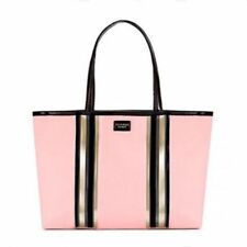 VICTORIA'S SECRET Pink Glass Stripe Tote 2018 New with Tag