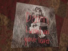 "Sophie B Hawkins Damn I Wish I Was Your Lover RARE Dutch 12"" Single"