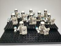 Star Wars Minifigures First Order Riot Stormtrooper Lot of 10 (Not made by Lego)