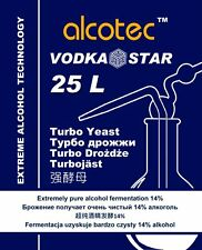 Alcotec Yeast VodkaStar Extra pure alcohol wash Spirit Moonshine Home Distilling