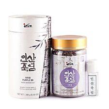 Insan Ultimate Korean Purple Bamboo Salt 9 Time Roasted Minerals Health 240g