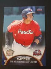 2016 Internacional League All Stars Chris Marrero #24 Pawtucket Red Sox