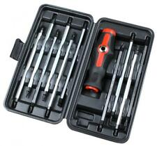 CT4802 11PC Boxed Screwdriver Set With Straight & T Bar T-Bar Handle In Case