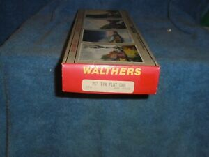 WALTHERS HO SCALE #932-3953 75' TTX FLAT CAR PENNSYLVANIA #470523