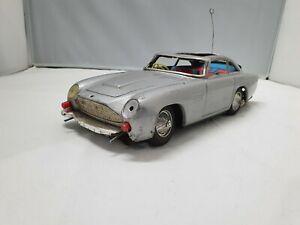 Aston Martin DB5 James Bond 007 1960's Car Tin Toy for Parts 100% Vintage