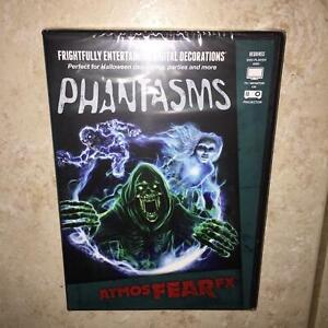 ATMOSFX PHANTASMS DIGITAL HALLOWEEN DECORATIONS DVD NEW