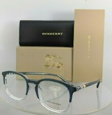 Brand New Authentic Burberry BE 2272 Eyeglasses 2272F Blue Clear 53mm Frame