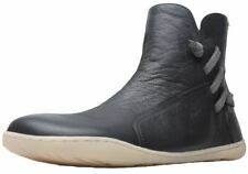 Camper Peu Cami Grey Womens Leather Ankle Hi Boots