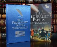 Federalist Papers Constitution Hamilton New Slipcase Silk Hardcover Deluxe Ed