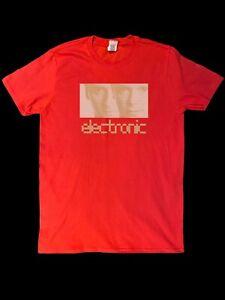 ELECTRONIC T-SHIRT - Smiths New Order Joy Division Pet Shop Boys influence