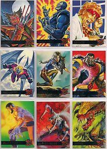 1995 Fleer Ultra X-Men Marvel Base Card You Pick, Finish Your Set