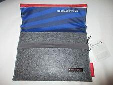 AMERICAN AIRLINES USAIRWAYS amenity kit i PAD mini holder HERITAGE empty bag