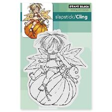 Penny Black Rubber Stamps Slapstick Cling Pumpkin Ride New cling Stamp