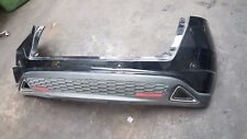 GENUINE HONDA CIVIC MK8 REAR BUMPER IN BLACK WITH SENSORS 2006-2012