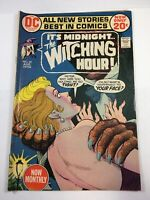 The Witching Hour # 22 DC Comics August 1972 Vintage Bronze Age Horror