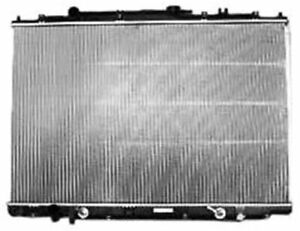 TYC 2740 Compatible with ACURA MDX 1-Row Plastic Aluminum Replacement Radiator