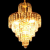 Chandelier Ceiling Pendant Light Modern Elegant Crystal Lamp Fixture lighting