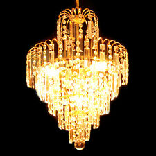 Chandelier Ceiling Pendant Light Modern Elegant Crystal Lamp Fixture lighting US