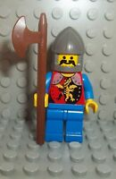 LEGO Ritter Figur Drachenritter inkl. Waffe aus 6076 System Castle Knight RFE4