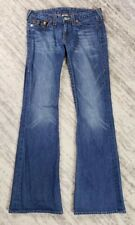 True Religion Bobby Flare Jeans Boot Cut Womens Size 30 32x34  32 x 34