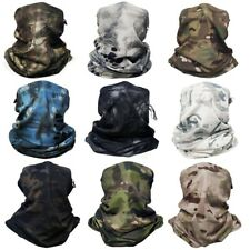 Neck Gaiter Bandana Half Face Mask Tactical MC Camo  Scarf Multifunction Masks