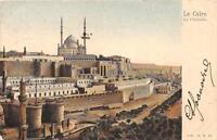 CPA EGYPTE LE CAIRE LA CITADELLE  (dos non divisé)