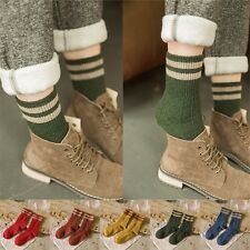 Retro Women Ankle Socks Ladies Casual Cotton Socks Cute Striped High Socks 5Pair