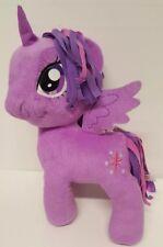 "My Little Pony Purple Twilight Sparkle Unicorn 12"" Plush Stuffed Animal Toy Doll"