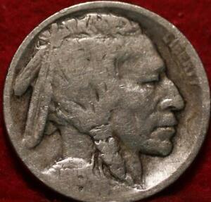 1915-D Denver Mint  Buffalo Nickel